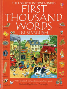 First Thousand Words in Spanish by Amery