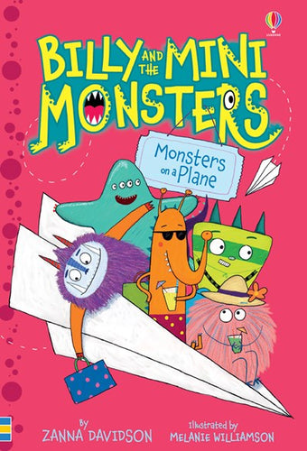 Billy and the Mini Monsters: Monsters on a Plane by Davidson