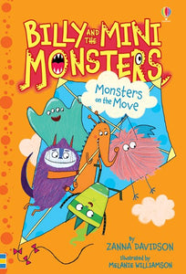 Billy and the Mini Monsters Monsters on the Move by Davidson