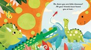 Usborne Little Peek Through Book: Are You There Little Dinosaur?