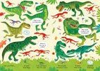 Usborne Look and Find Puzzles Dinosaurs