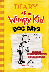 Diary of a Wimpy Kid #4 Dog Days by Kinney