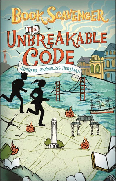 Book Scavenger The Unbreakable Code by Bertman