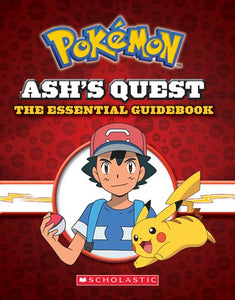 Pokemon Ash's Quest the Essential Guidebook