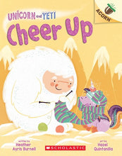 Unicorn and Yeti Cheer Up by Burnell
