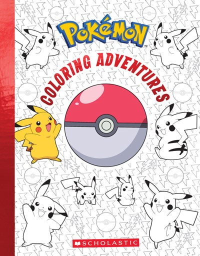 Pokemon Coloring Adventures