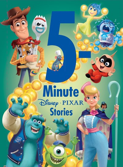 5 Minute Pixar Stories