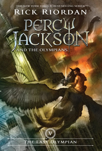 Percy Jackson and the Olympians by Riordan