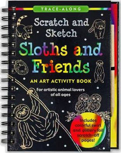 Sketch and Scratch Sloth and Friends