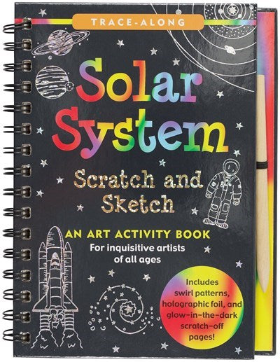 Scratch and Sketch Solar System