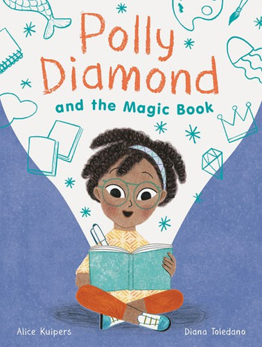 Polly Diamond and the Magic Book (#1) by Kuipers