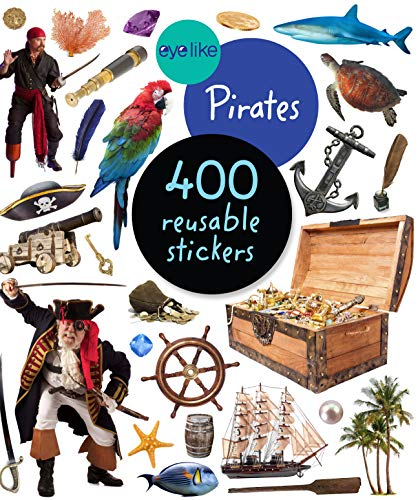 400 Pirate Reusable Sticker