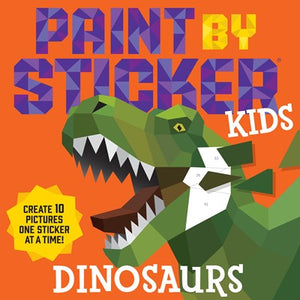 Kids Paint by Sticker Dinosaurs
