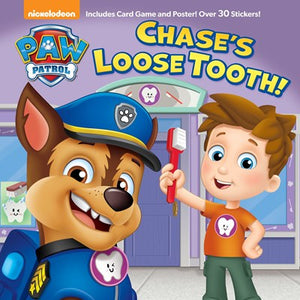 Paw Patrol Chase's Loose Tooth!
