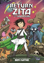 Return of Zita The Spacegirl by Hatke