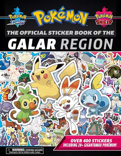 Pokemon the Official Sticker Book of the Galar Region