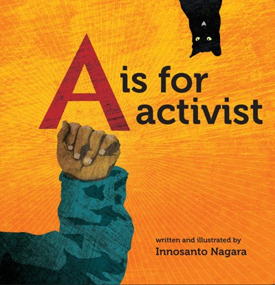 A is for Activist board by Nagara