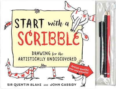 Start with a Scribble Drawing for the Artistically Undiscovered by Blake
