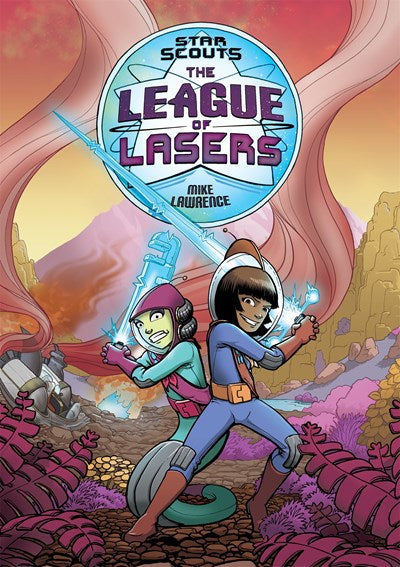 The League of Lasers by Lawrence