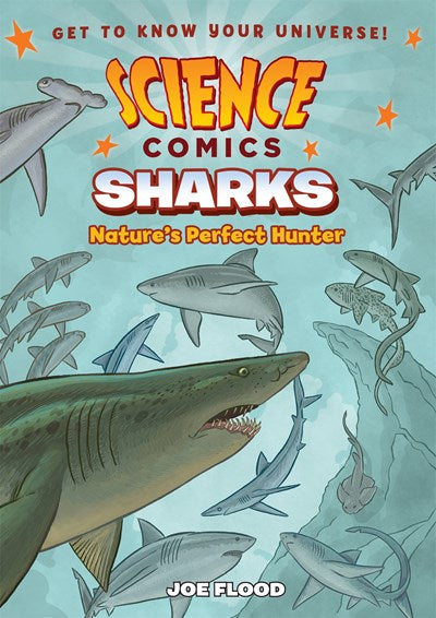 Science Comics Sharks by Flood