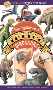 Roaring Rumbling Dinosaur Tattoos
