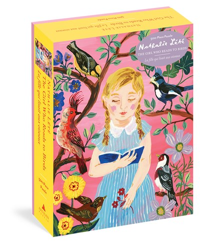 The Girl Who Reads to Birds 500 Piece Puzzle