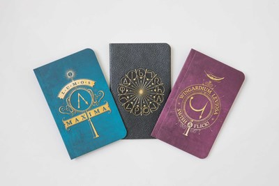 Harry Potter Spells Pocket Notebook Collection