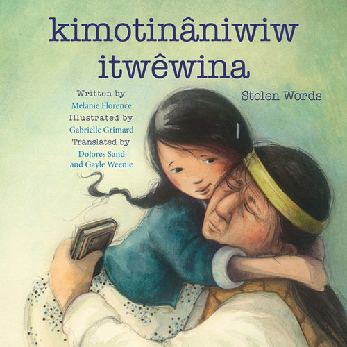 kimotinaniwiw itwewuna (Stolen Words) by Florence