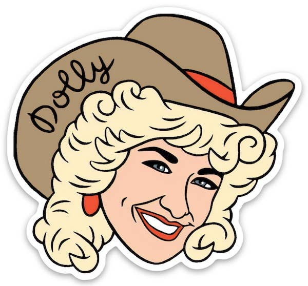 Dolly Patron Sticker