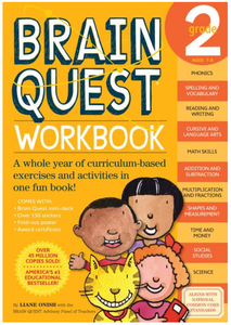 Brain Quest 2nd Grade Workbook