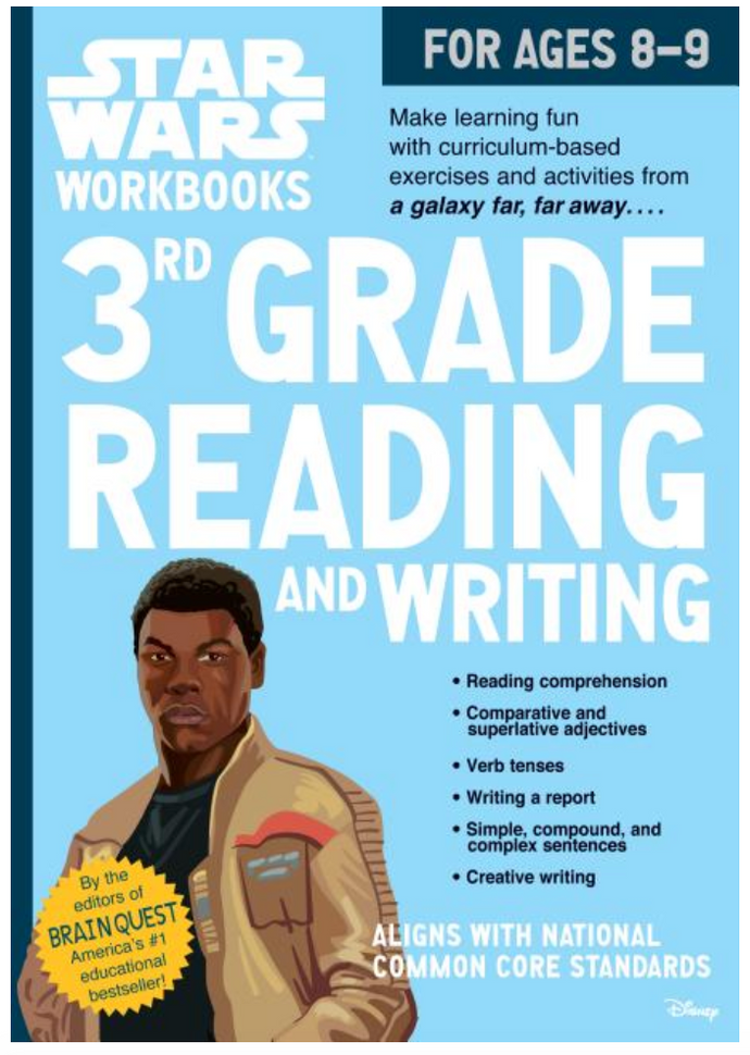 Star Wars 3rd Grade Reading and Writing