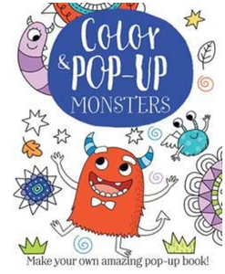 Color and Pop Up Monsters