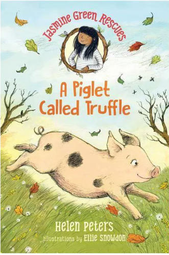 Jasmine Green Rescues (#1) A Piglet Named Truffles by Peters