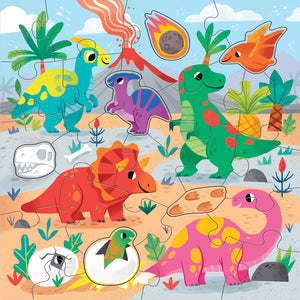Dino Planter Sticker