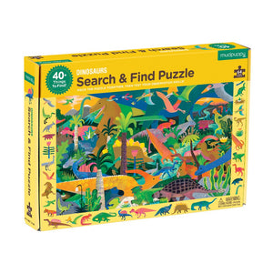 Dinosaurs Search & Find Puzzle 64 Piece Puzzle