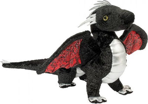 Vincent Black Dragon Plush