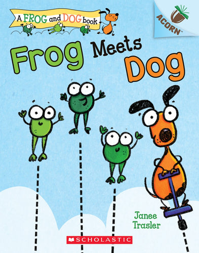 Frog Meets Dog by Trasler