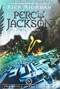 Percy Jackson #4 Battle of the Labyrinth by Riordan