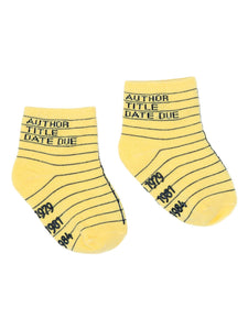Kid library socks