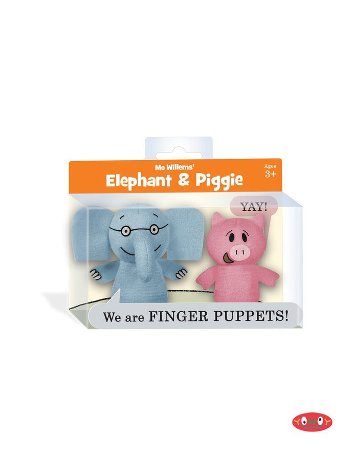 Elephant and Piggie Finger Puppets