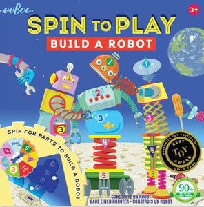 Spin To Play Build A Robot