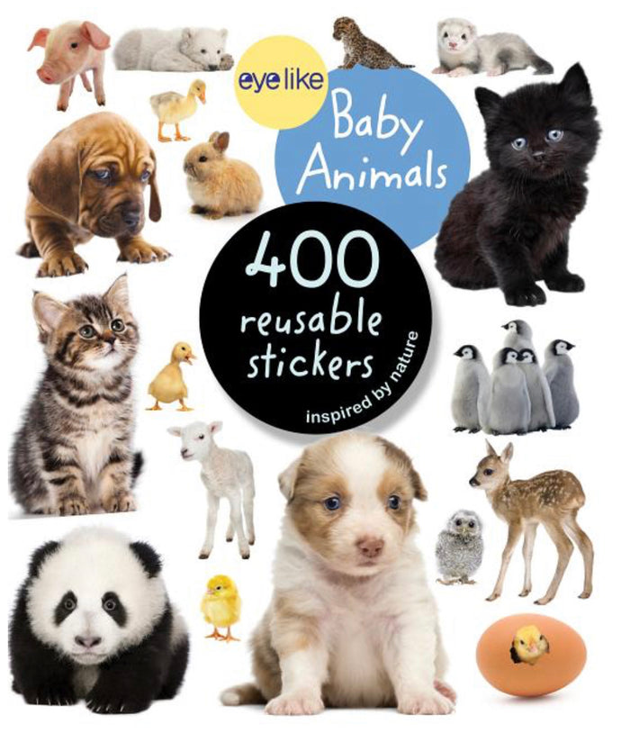 Eyelike: Baby Animals 400 Reusable Stickers