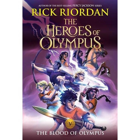 The Heroes of Olympus (#5) The Blood of Olympus by Riordan