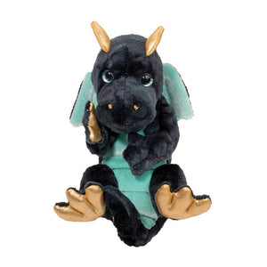 Navy Dragon Lil' Handful Plush