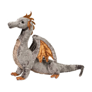 Faust Silver Dragon Plush