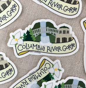 Columbia River Gorge Vinyl Sticker