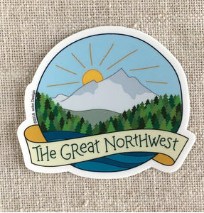 The Great Northwest Vinyl Sticker