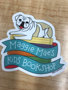 Maggie Mae's Kids Bookshop Sticker