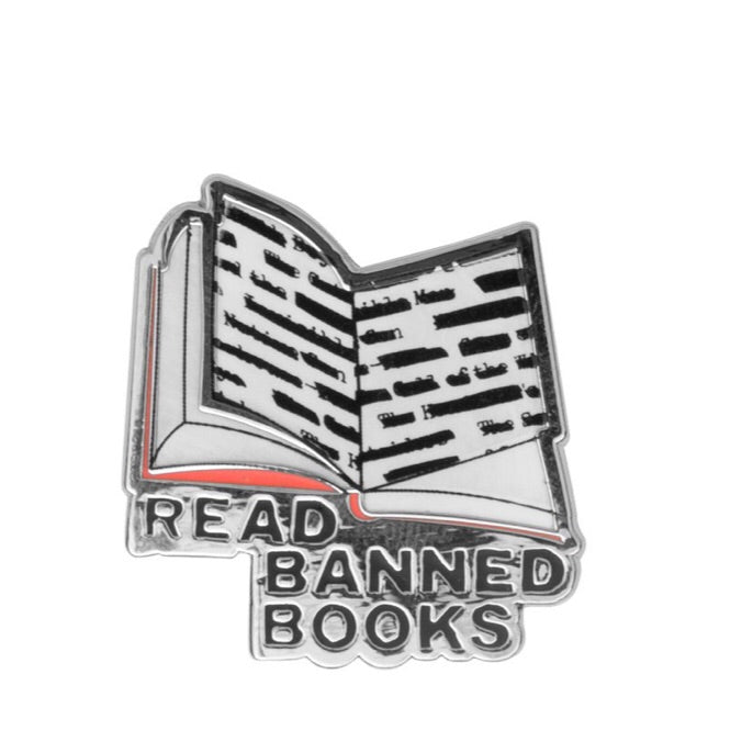 Read Banned Books Pin