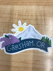 Gresham, OR Sticker
